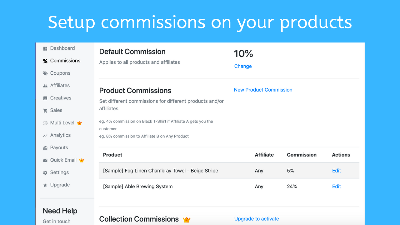 App for BigCommerce - Goaffpro